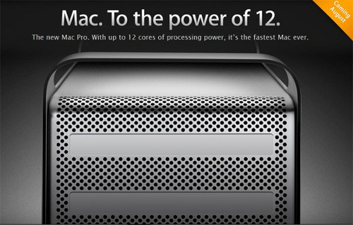 Новые Mac Pro - с процессорами Intel Xeon, до 12 ядер