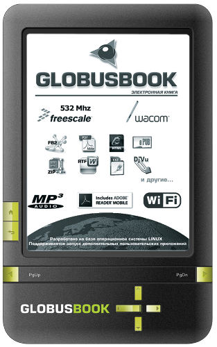 GlobusBOOK 750 - электронная книга с Wi-Fi