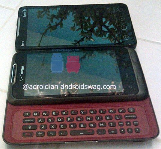 Новый Android смартфон от HTC - 1,2 ГГц процессор, QWERTY и 4-дюймовый тачскрин