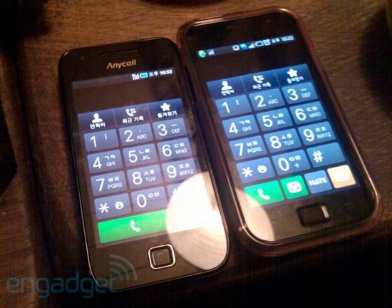 Samsung Galaxy U - младший брат Samsung Galaxy S на фото