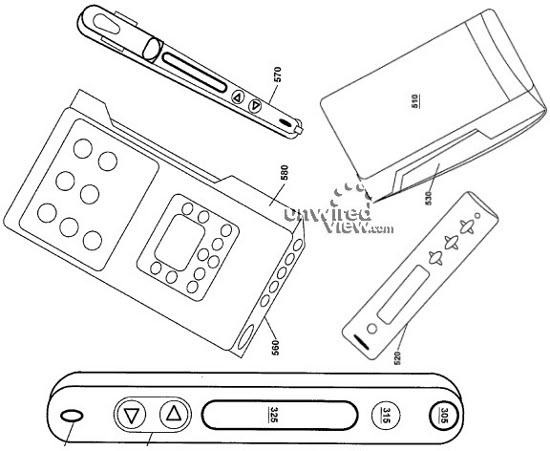 Palm запатентовала планшет со съемным мини-мобильником