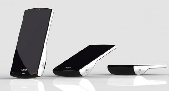 """Nokia Kinetic - концепт """"самодвижущегося"""" мобильного телефона"""