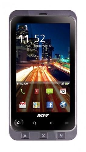 Производительный Android смартфон Acer Stream - старт продаж 9 августа