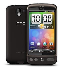 HTC Desire HD - производительный Android смартфон, подробности