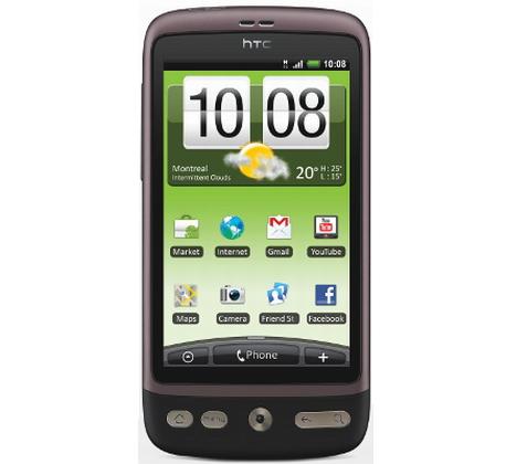 Смартфоны HTC Desire и Nexus One получат дисплеи Super LCD вместо AMOLED, официально