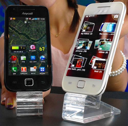 Android смартфон Samsung Galaxy U с AMOLED Plus представлен официально